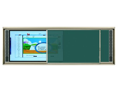 intelligent education interactive board + sliding writing frame board  CB8CT PRO (86 inch capacitive screen)  / CB8IT PRO(86 inch infrared screen)